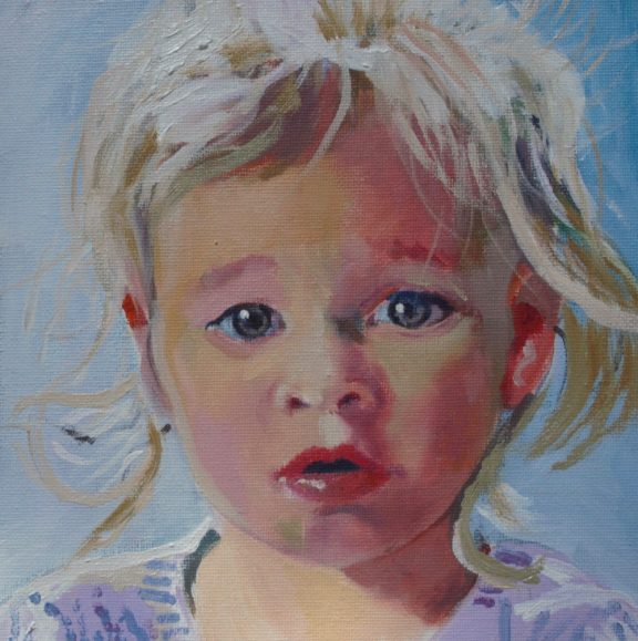 Maureen Grealy - Sensitive Child Portrait